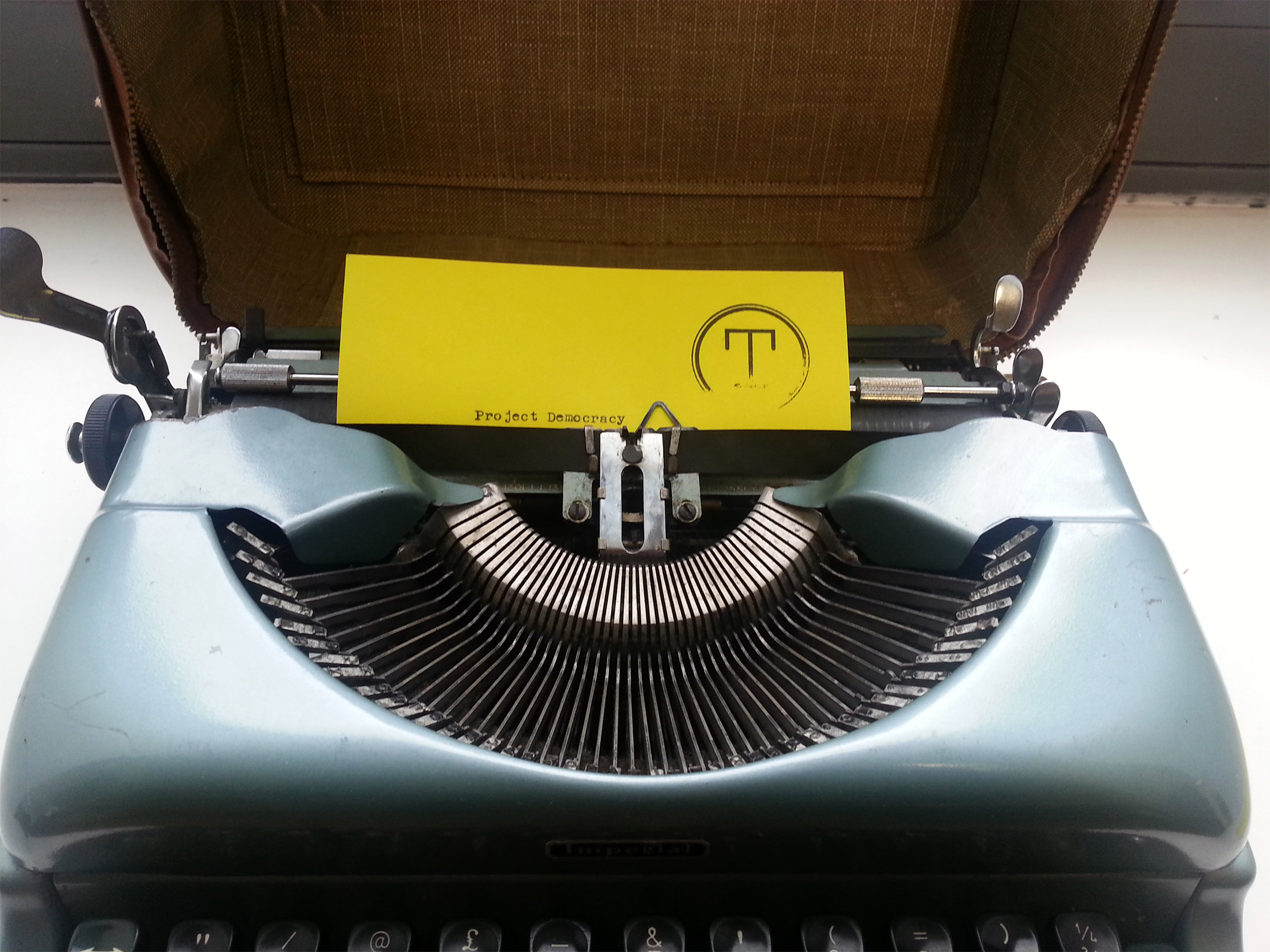Project Typewriter